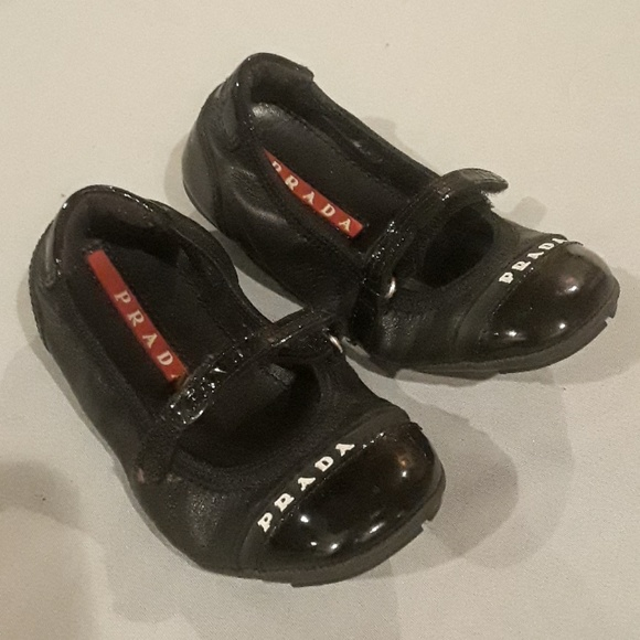 Baby Prada Patent Leather And Leather Shoes Prada Baby Sandals Shoes